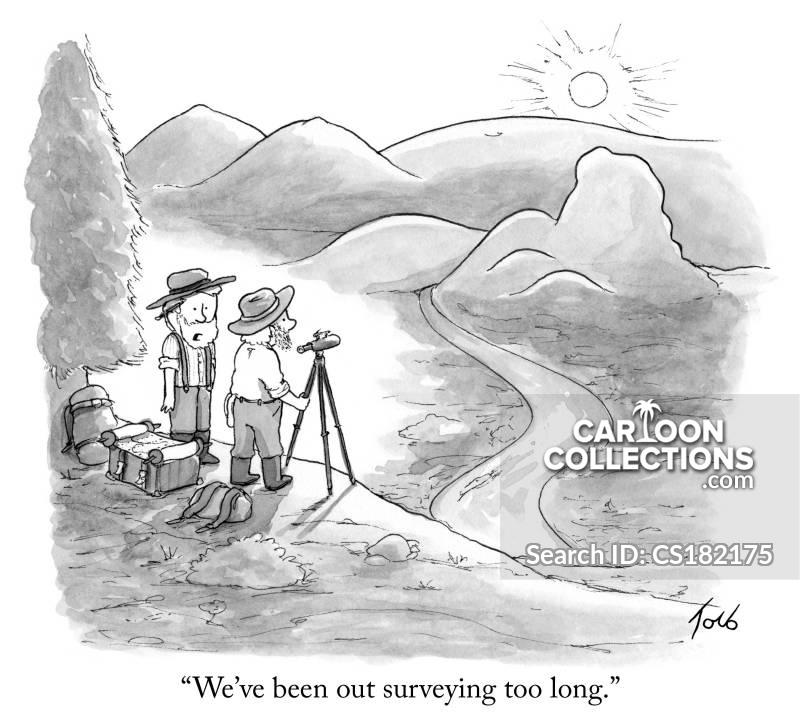 topographical cartoon