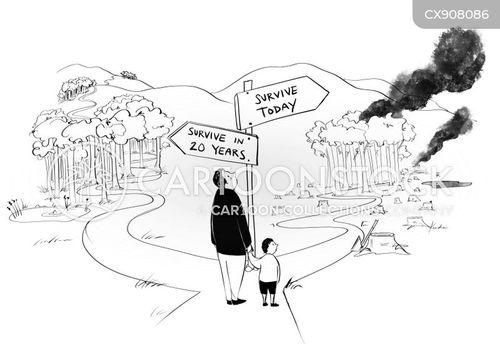 near future cartoon