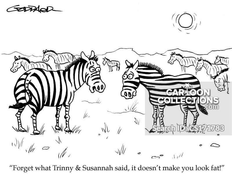 trinny cartoon