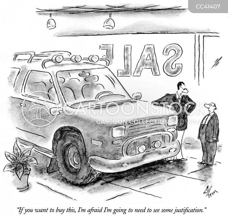 Off-road cartoon
