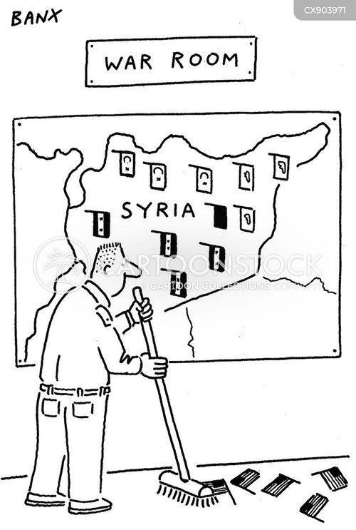 syria cartoon