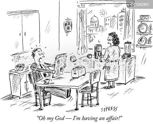 love affair cartoon