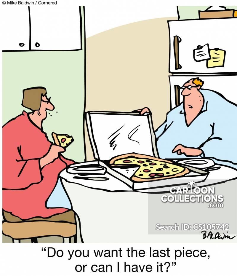 greedy men cartoon