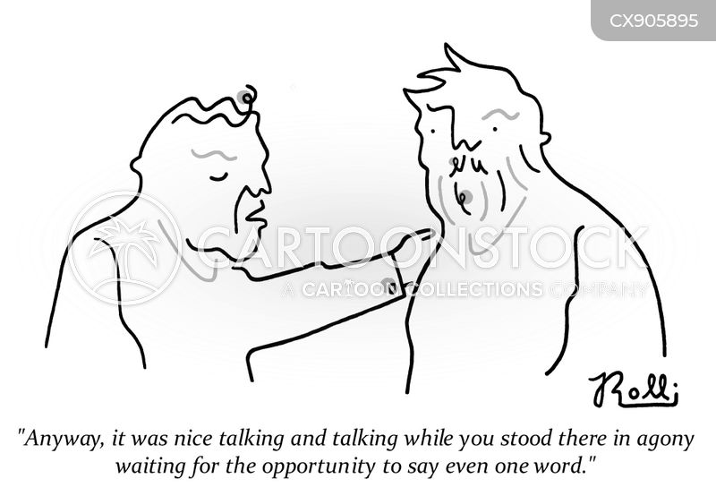 talkative cartoon