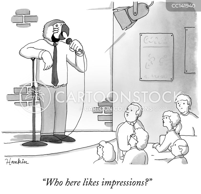 impression cartoon