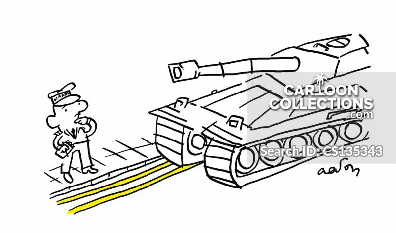 double yellow line cartoon