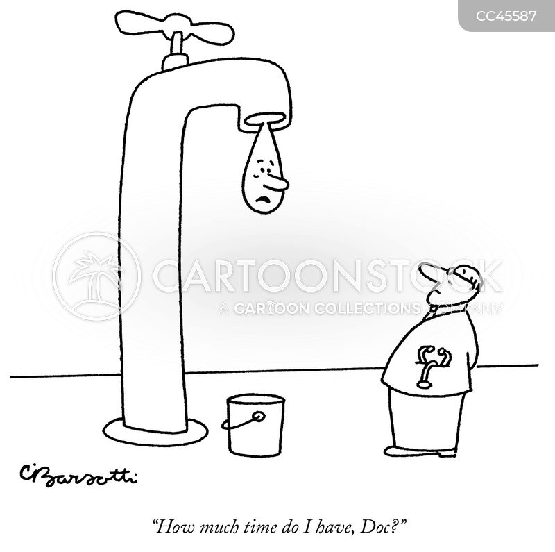 dripping tap cartoon