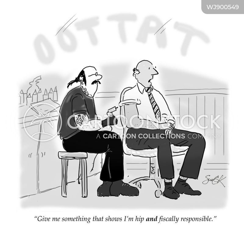 tattoo artists cartoon