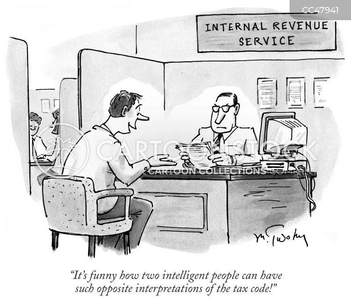 audits cartoon