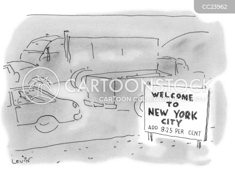 retailer cartoon