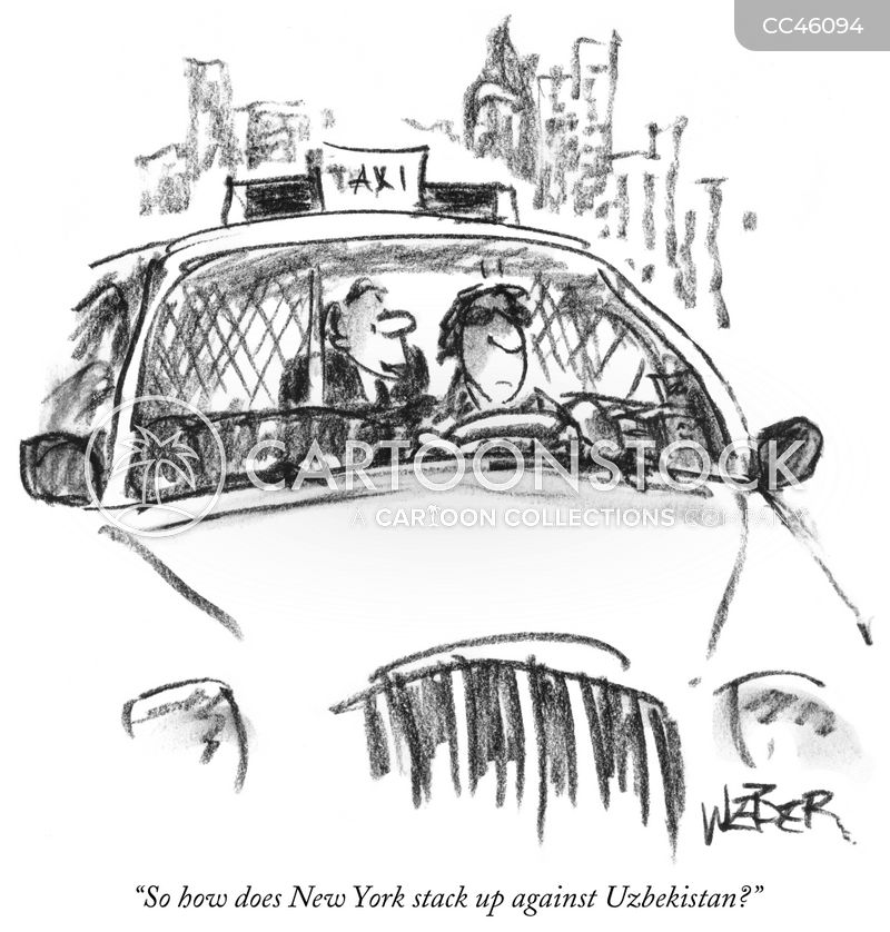 yellow cab cartoon