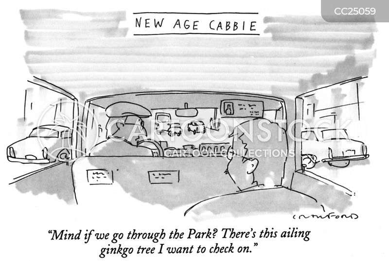 Cabbies cartoon
