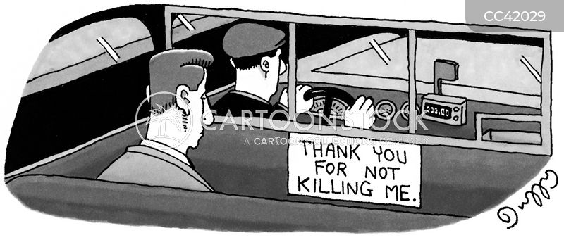 taxi driver cartoon