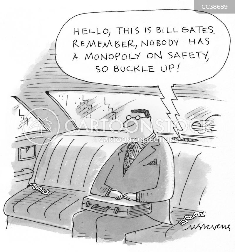 safety warning cartoon