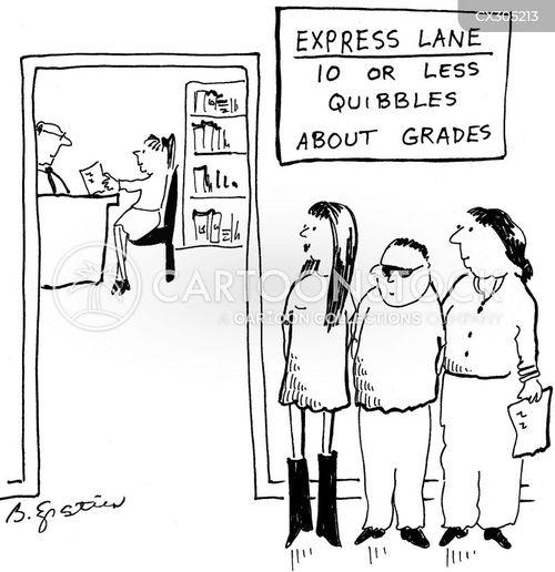 marking cartoon