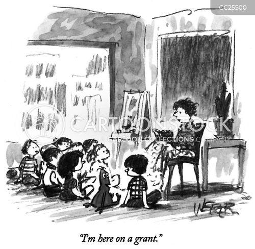 grant cartoon