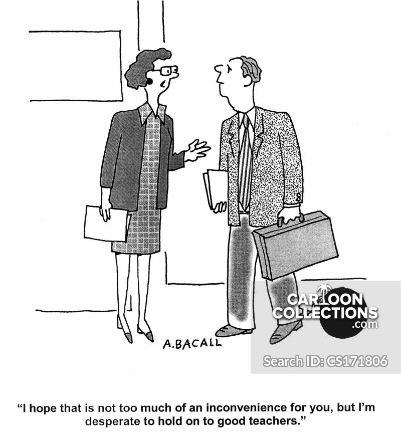 inconveniencing cartoon