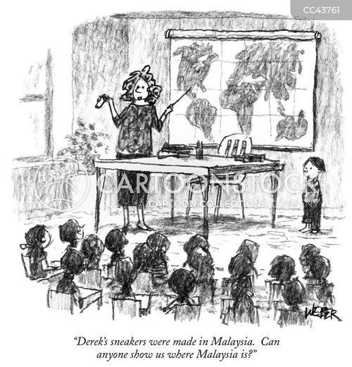 earth science cartoon
