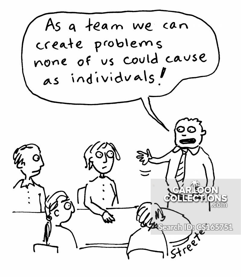 Problem Makers cartoon