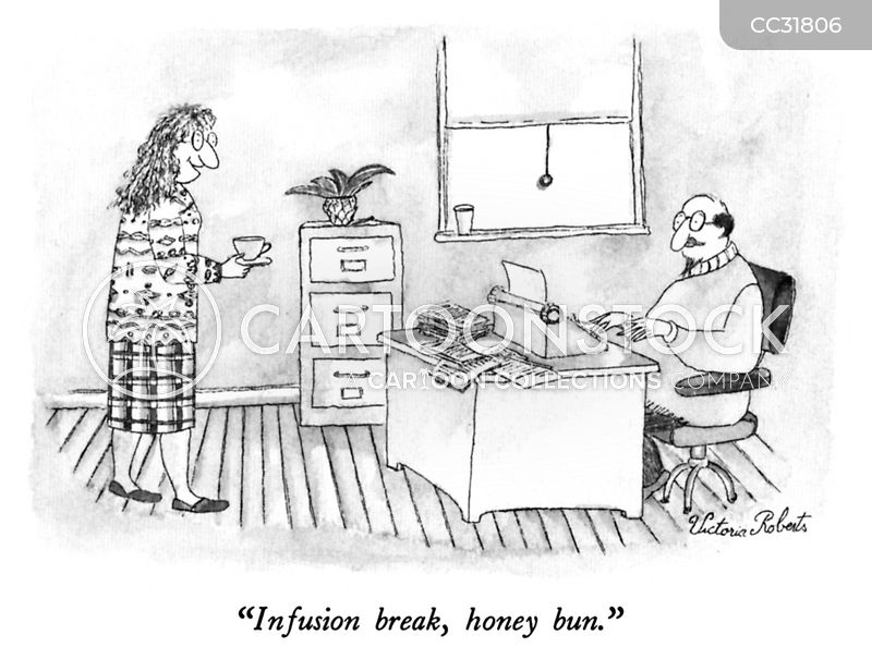 tea breaks cartoon