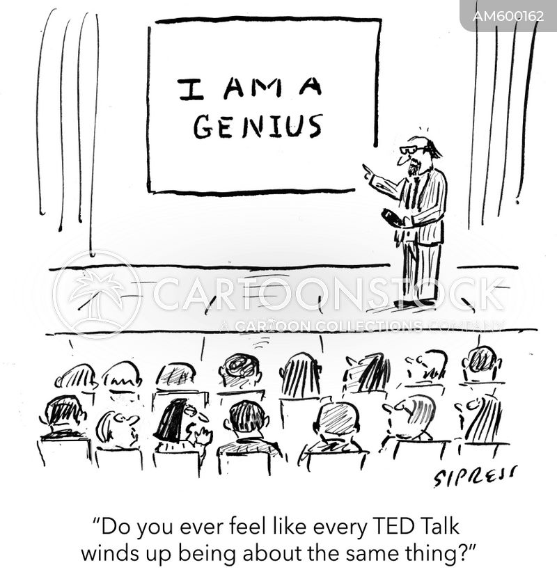 inspirational talk cartoon