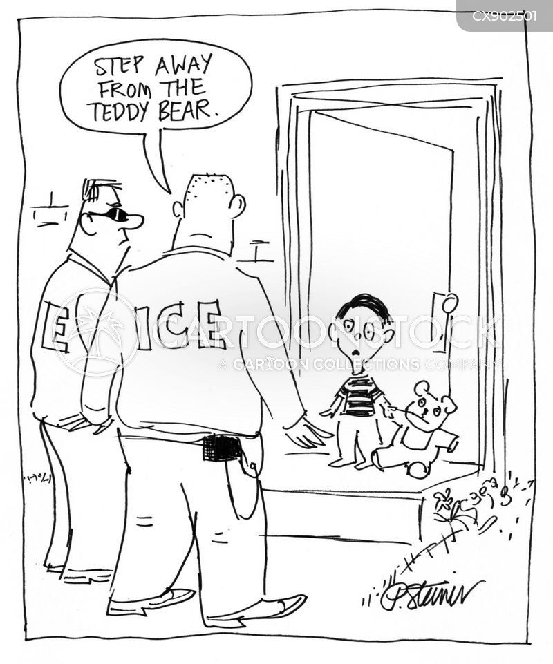 immigration and customs enforcement cartoon