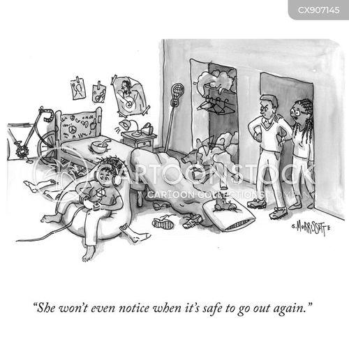 rooms cartoon