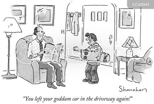 role reversals cartoon