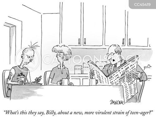 youthful rebellion cartoon