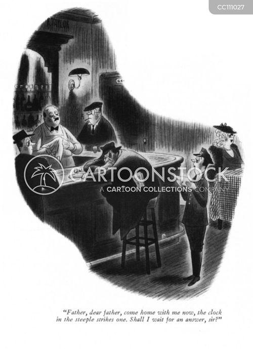 telegrams cartoon