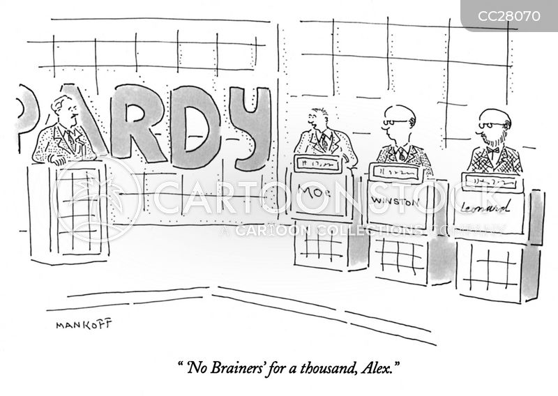No Brainer cartoon