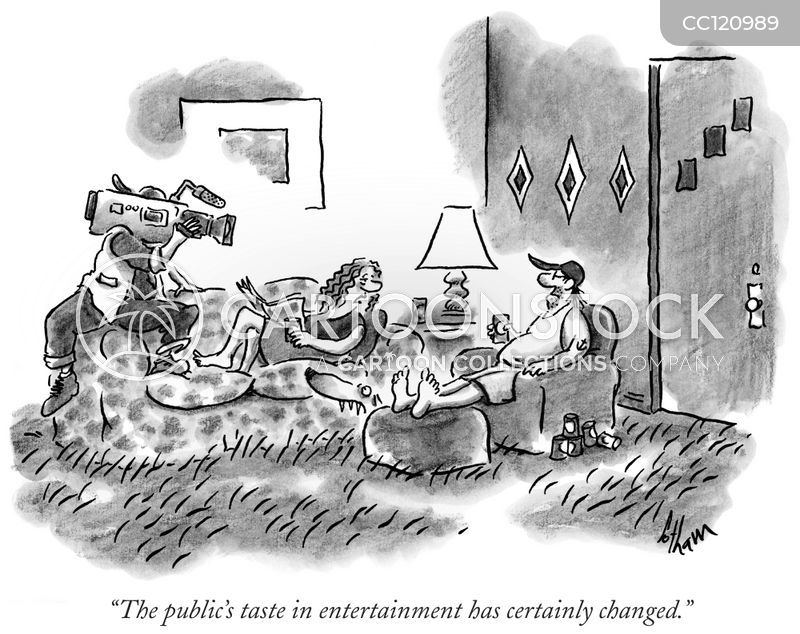 reality television cartoon