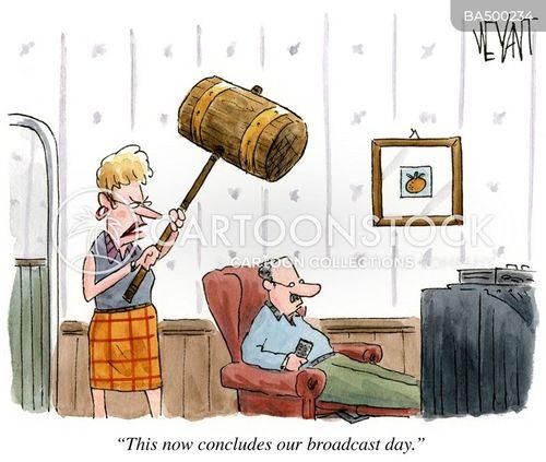 tv channels cartoon