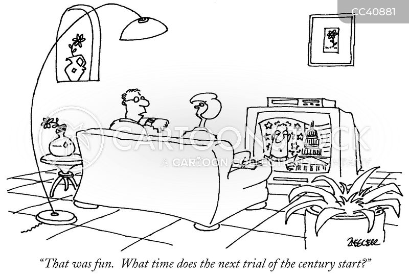 trial of the century cartoon