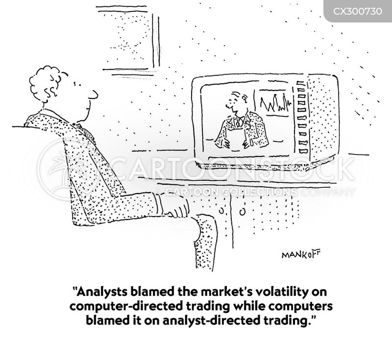 analyst cartoon