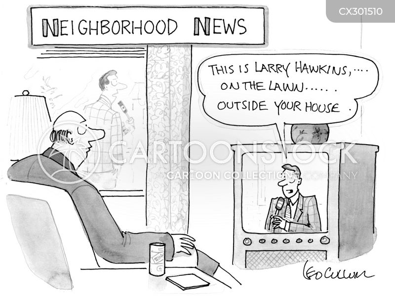 newscasters cartoon