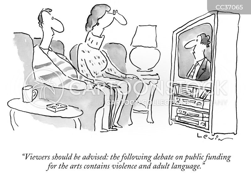 Public Funding cartoon
