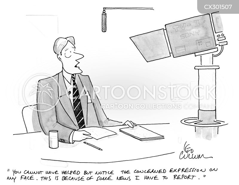 presenter cartoon
