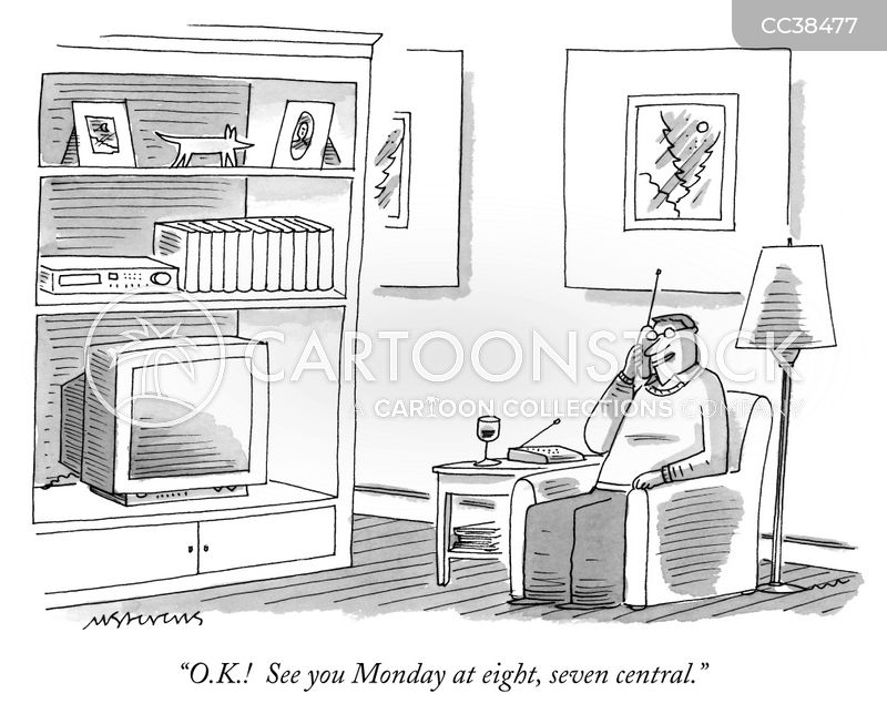 schedules cartoon