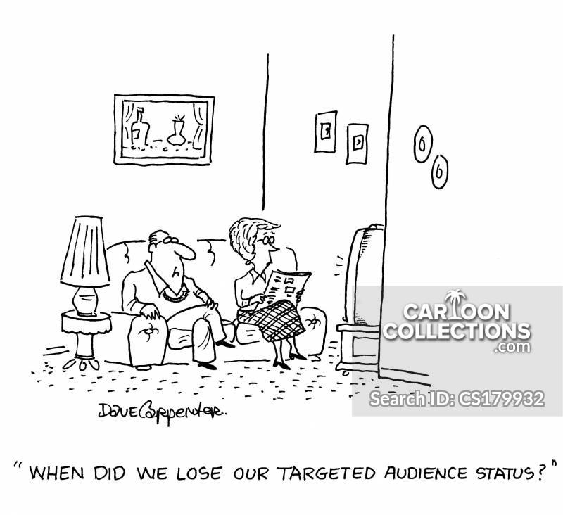 tv viewer cartoon