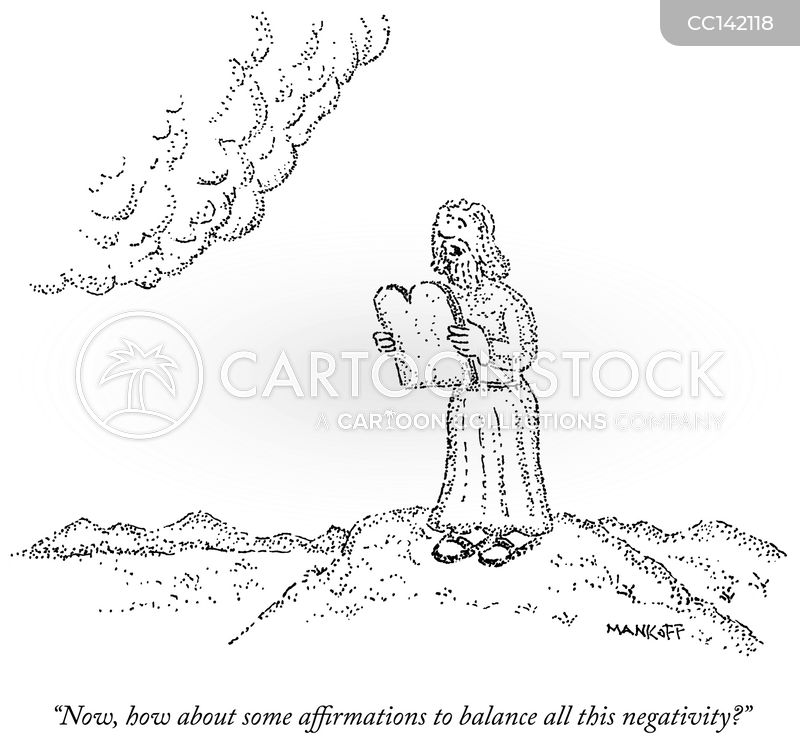 negative outlooks cartoon