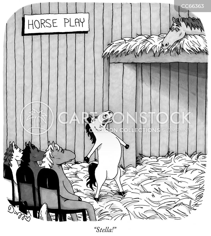 stables cartoon