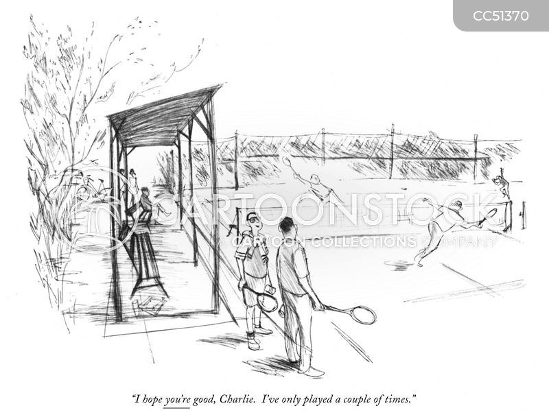 Tennis Balls cartoon