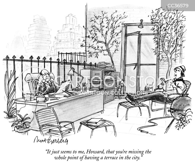 city dwellers cartoon