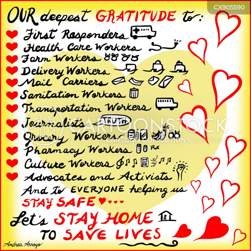 gratitude cartoon
