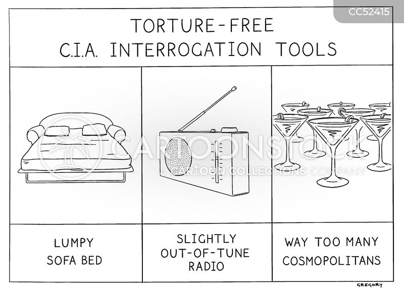 interrogation methods cartoon