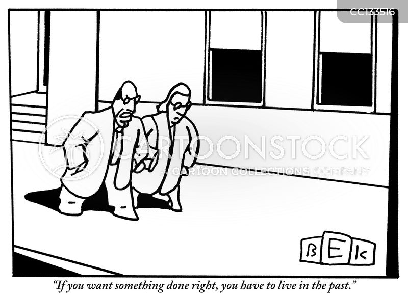 doing things right cartoon