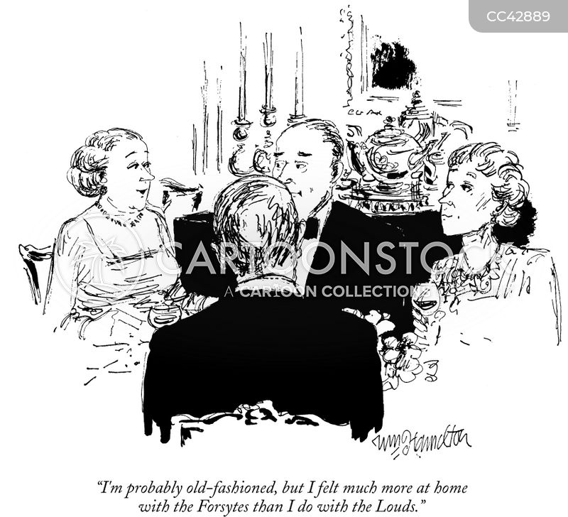 the forsyte saga cartoon