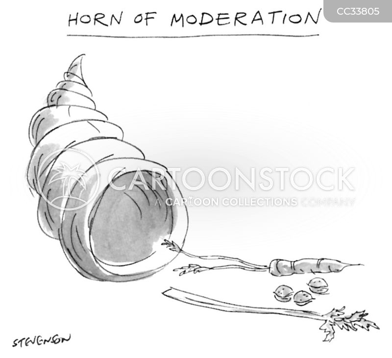 the horn of plenty cartoon