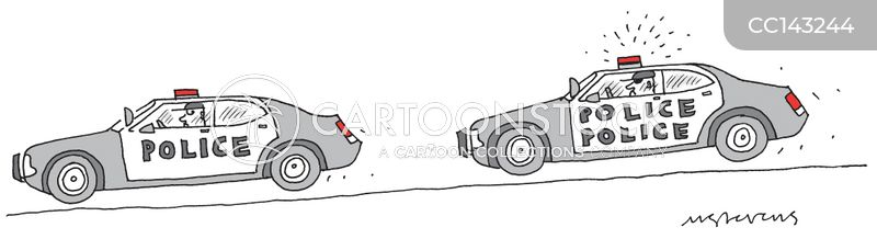 police car cartoon